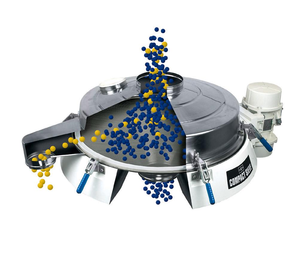 Vibrationssiktar Compact Sieve siktmaskin