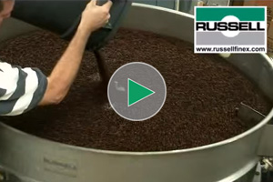 vibro screen for coffee beans