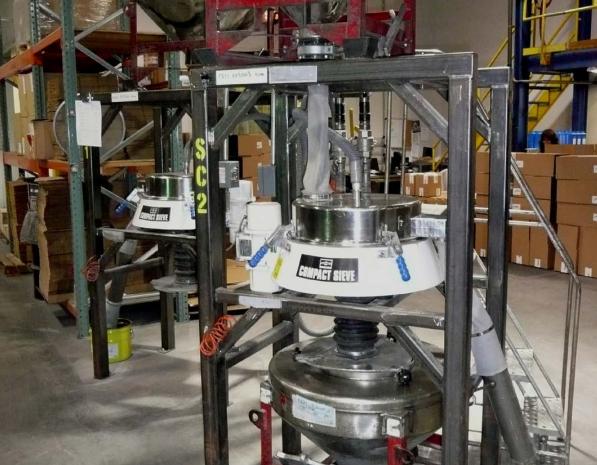 siktningssystem för metallpulver